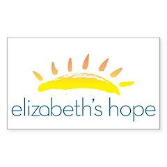 Elizabeth's Hope Decal
