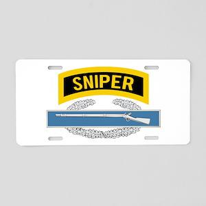 Sniper CIB Aluminum License Plate
