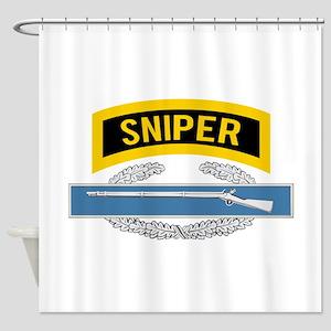 Sniper CIB Shower Curtain