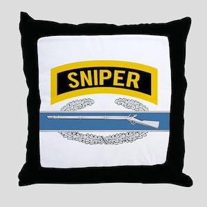 Sniper CIB Throw Pillow