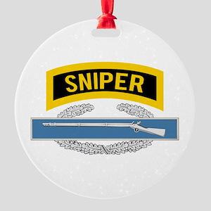 Sniper CIB Round Ornament