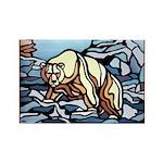 Polar Bear Fridge Magnets 10 Wildlife Painting