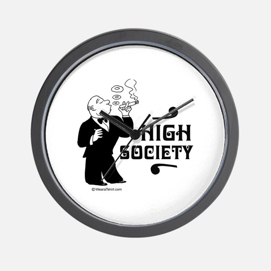 High Society -  Wall Clock