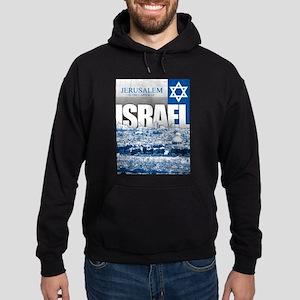 Jerusalem, Israel Hoodie (dark)