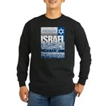 Jerusalem, Israel Long Sleeve Dark T-Shirt