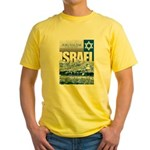 Jerusalem, Israel Yellow T-Shirt