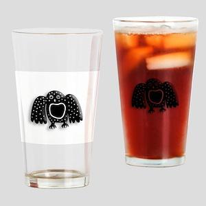 Arctic Owl Drinking Glass