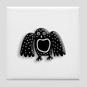 Arctic Owl Tile Coaster