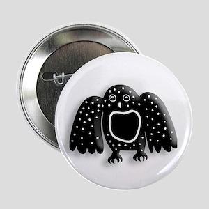 "Arctic Owl 2.25"" Button"
