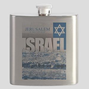 Jerusalem, Israel Flask