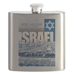 Jerusalem, Israel Flask