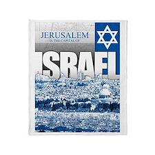Jerusalem, Israel Throw Blanket
