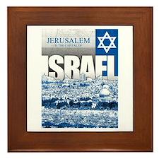 Jerusalem, Israel Framed Tile