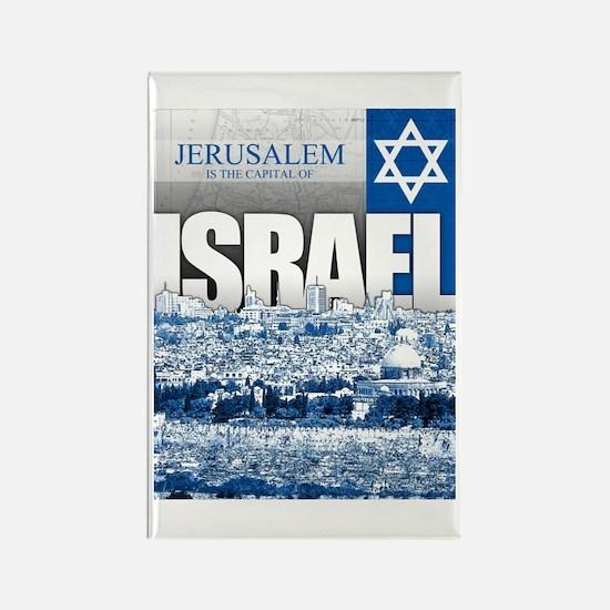 Jerusalem, Israel Rectangle Magnet