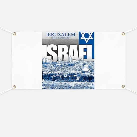 Jerusalem, Israel Banner