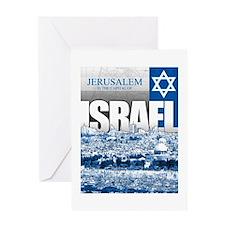 Jerusalem, Israel Greeting Card