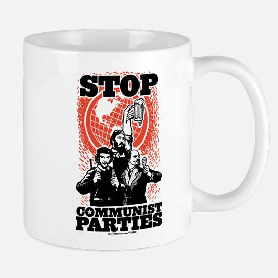 Stop Communist Parties Mug