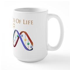 Threads Of Life Large Mug