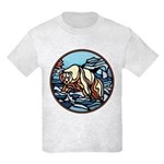 Polar Bear Art Kids T-Shirt Cool Wildlife Design