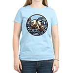 Polar Bear Art Women's T-Shirt Wildlife Painting