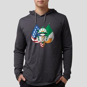 Aoh Emblem Only Mens Hooded Shirt