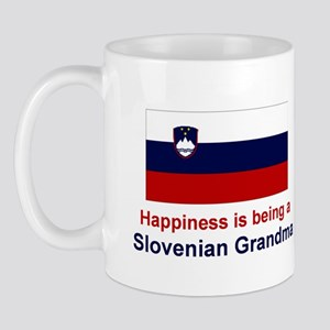 Happy Slovenian Grandma Mug