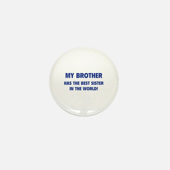 My Brother Mini Button