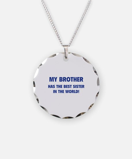 My Brother Necklace