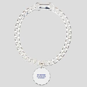 My Brother Charm Bracelet, One Charm