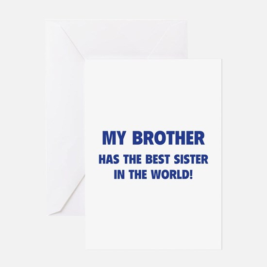 My Brother Greeting Card