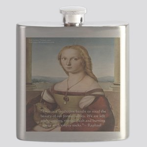 Raphaels Woman With A Unicorn Flask