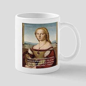 Raphaels Woman With A Unicorn Mug