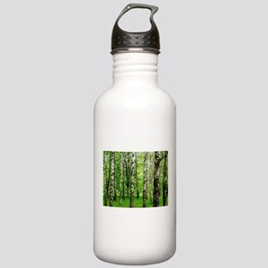 Forest view with birch Stainless Water Bottle 1.0L