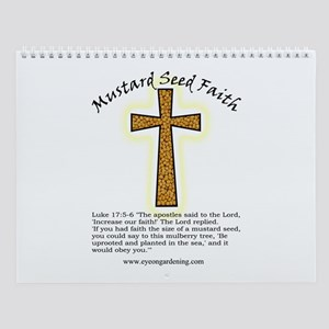 Mustard Seed Faith Wall Calendar