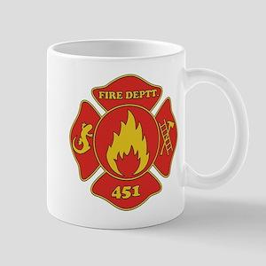 Fahrenheit 451 - Fire Deptt. Mug