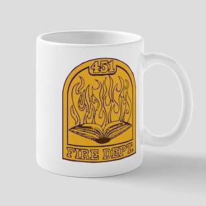 Fahrenheit 451 - Shield Insigna Mug