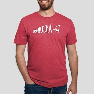 Soccer Evolution Mens Tri-blend T-Shirt