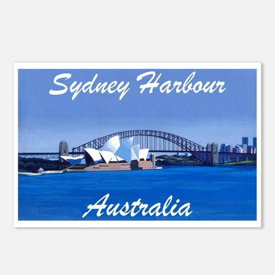 Sydney Harbour Painting Postcards (Package of 8)