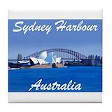 Australian Tile Coasters