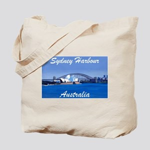 Sydney Harbour Painting Tote Bag