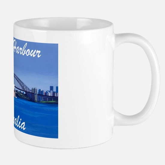 Sydney Harbour Painting Mug