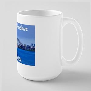 Sydney Harbour Painting Large Mug