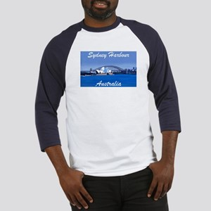 Sydney Harbour Painting Baseball Jersey
