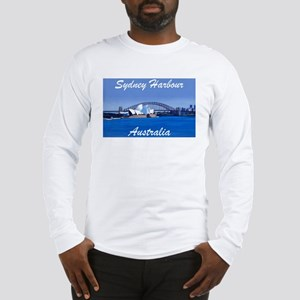 Sydney Harbour Painting Long Sleeve T-Shirt