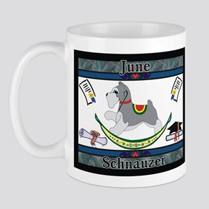 Schnauzer Rocking Dog Mug