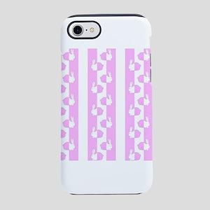 Baby design bunny rabbit pink iPhone 7 Tough Case
