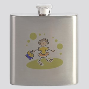 Back To School Flask