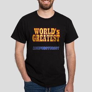 World's Greatest Acupuncturist Dark T-Shirt