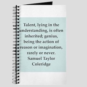 coleridge9 Journal