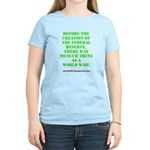 The Federal Reserve and World War Women's Light T-